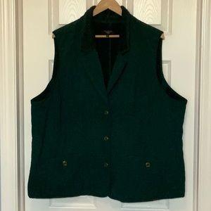 Talbots Woman's Vest 3x